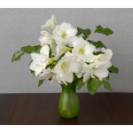 White Amaryllis Bouquet