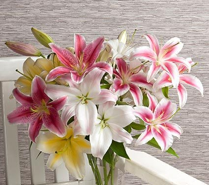 Perfumed Garden Lily Bouquet