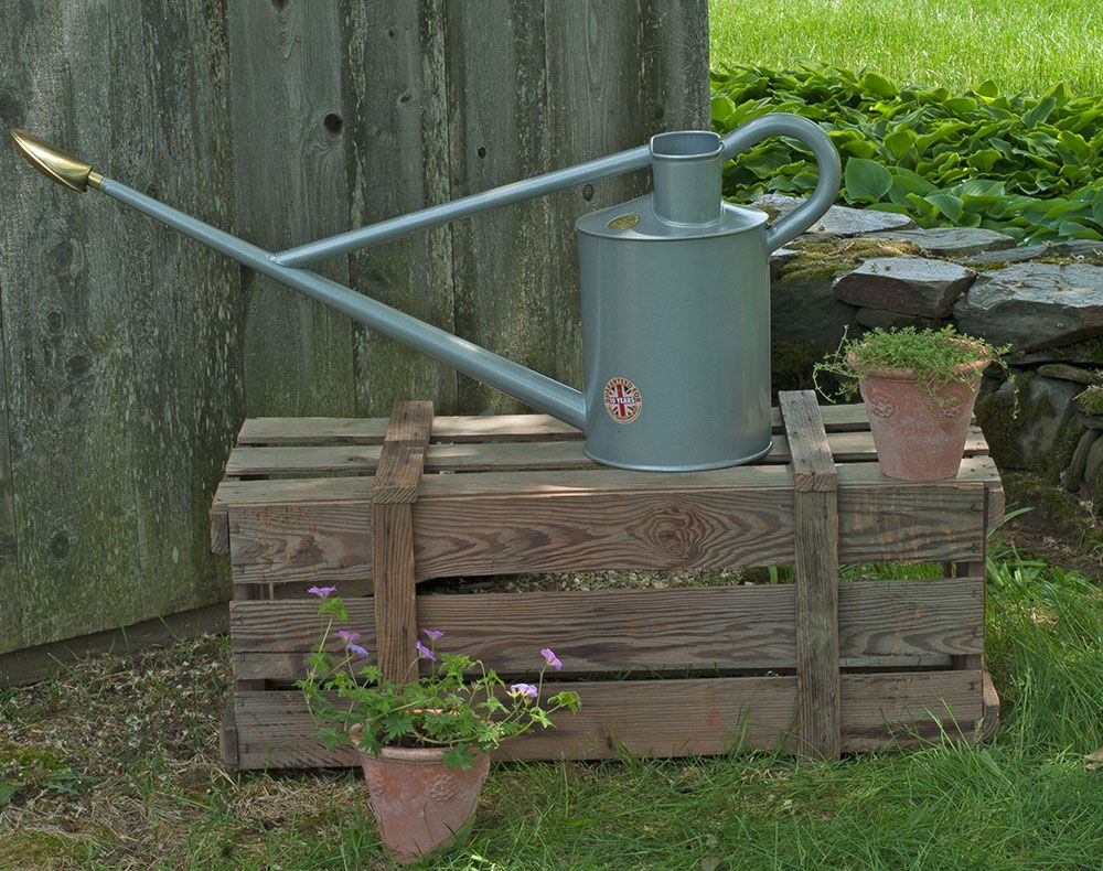 Long reach watering can white flower farm Long reach watering can