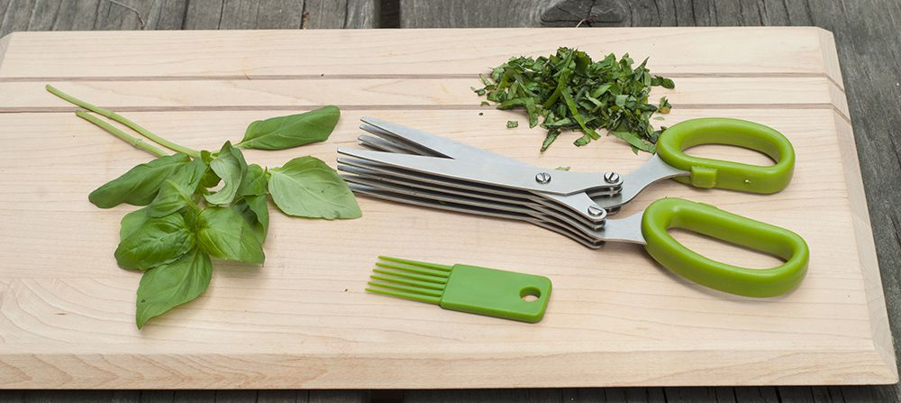 Herb Scissors with Cleaning Comb