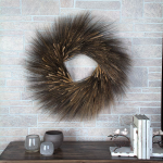 Black Bearded Wheat Wreath