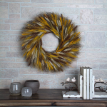 Multi-Toned Wheat Wreath
