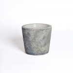 Marbleized Ceramic Pot, small