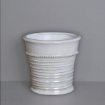 Crackle Glaze Pot, 5½