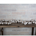Cotton Seedpod Garland