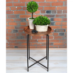 Copper Top Plant Stand