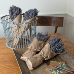 Dried Lavender Bundles, set of 2