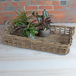 Rattan Display Basket