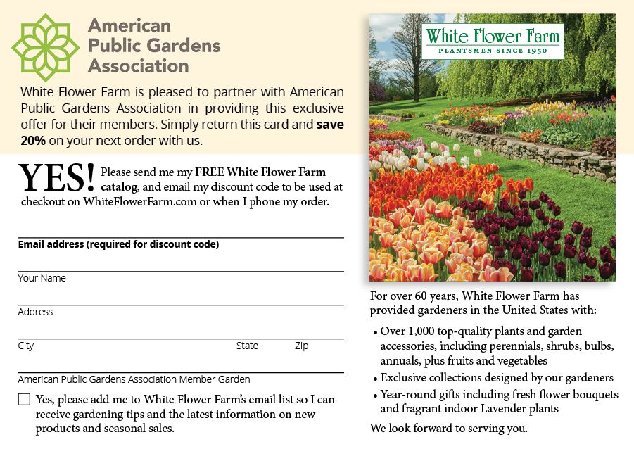 American Public Gardens Association Postcards