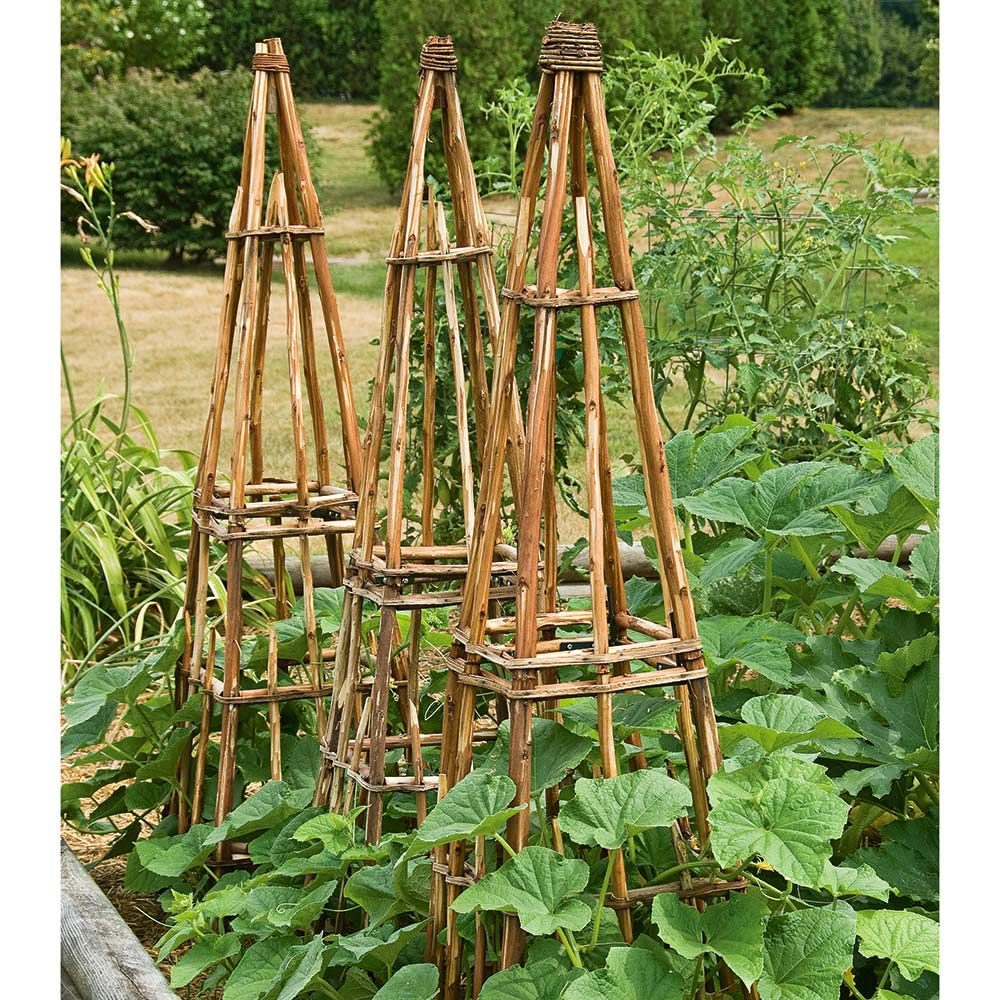 Rustic Twig Tower