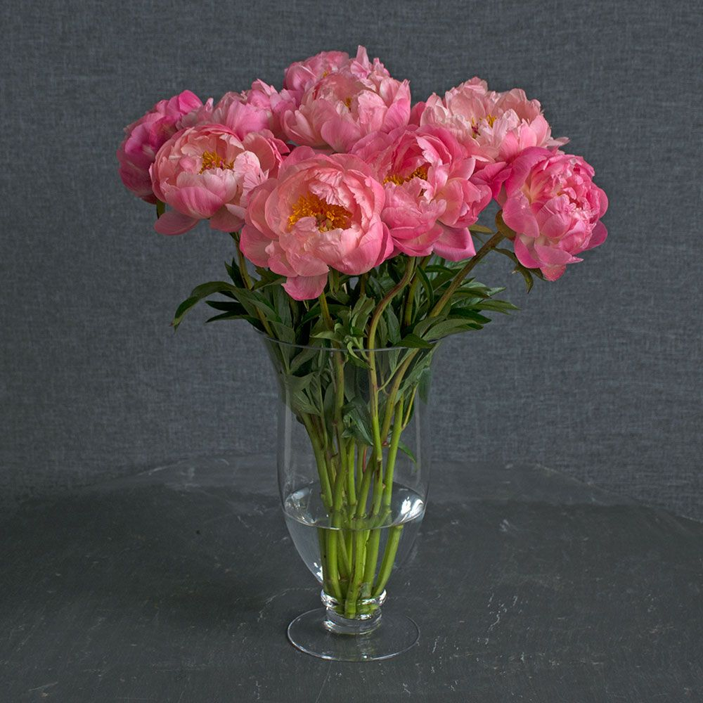 how to make a bouquet of peony flowers