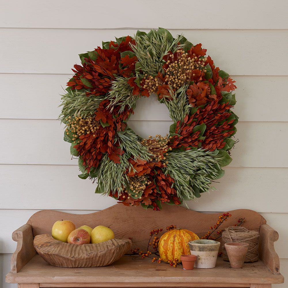 Autumn Harvest Wreath