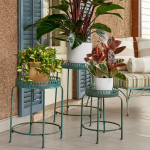 Veranda Plant Stands, set of 3