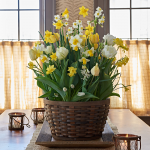 Sweet Radiance Bulb Collection, 48 bulbs in large woven basket