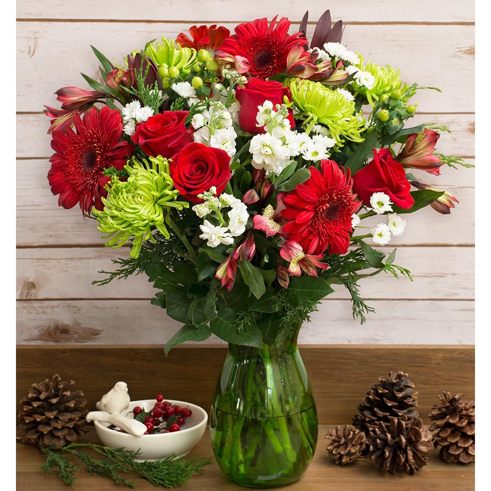 Christmas Colors Holiday Bouquet