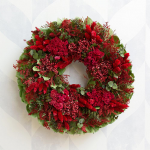 Pepperberry Holiday Wreath