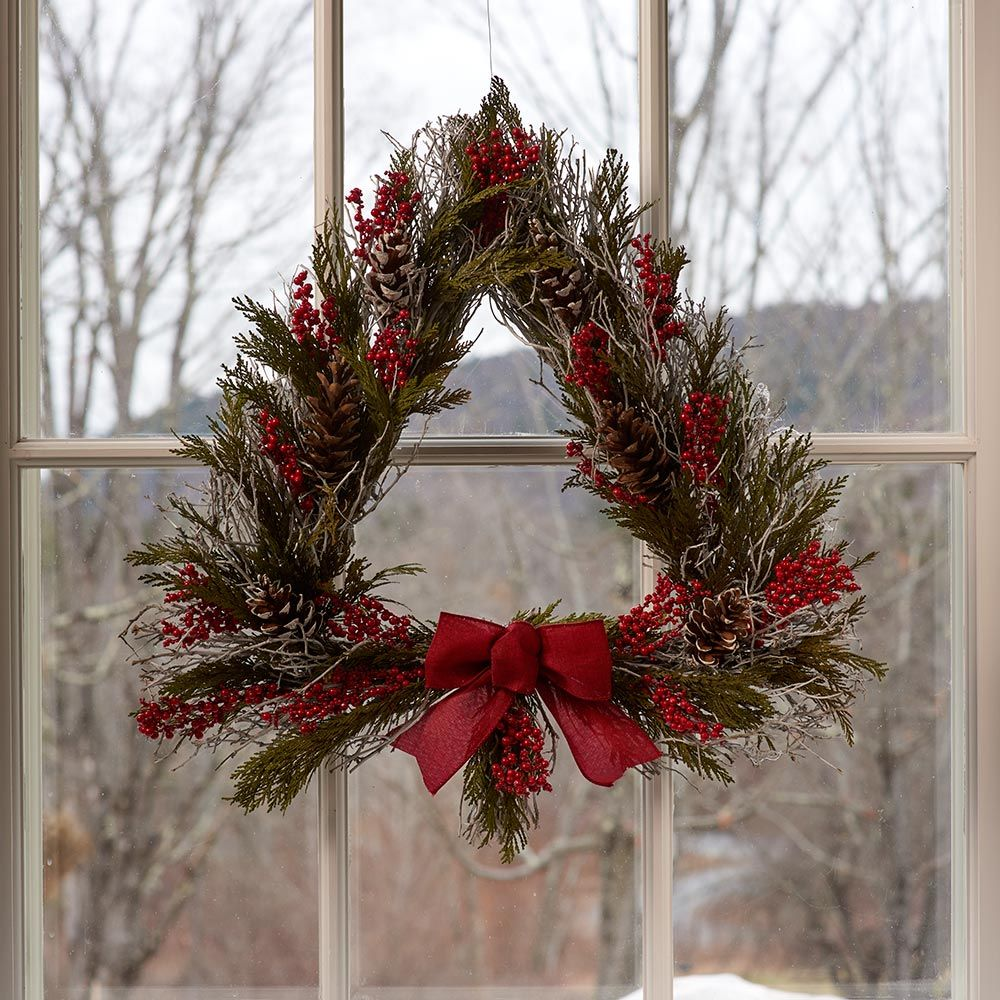 Everlasting Yuletide Tree Wreath