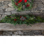 Boughs & Berries Runner with Lights