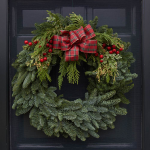 Fragrant Tartan Wreath