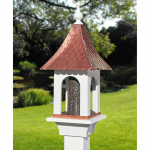 Copper Chateau Bird Feeder