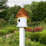Redwood Shingle Birdhouse
