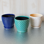 Colorful Ceramic Cachepots