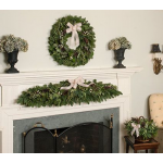 Eucalyptus & Cream Decorations