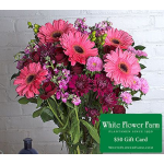Add a $50 Gift Card to Your Bouquet for Just $25