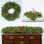 Festive Boxwood Decorations