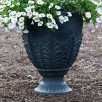 Gray Acanthus Urn