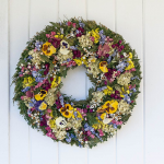 Garden Rainbow Wreath
