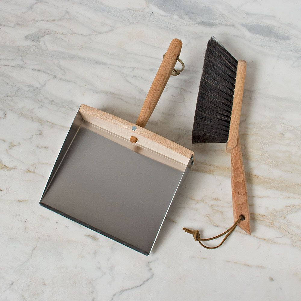 Indispensable Dust Pan & Brush
