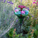 Hand-Painted Hummingbird Feeder