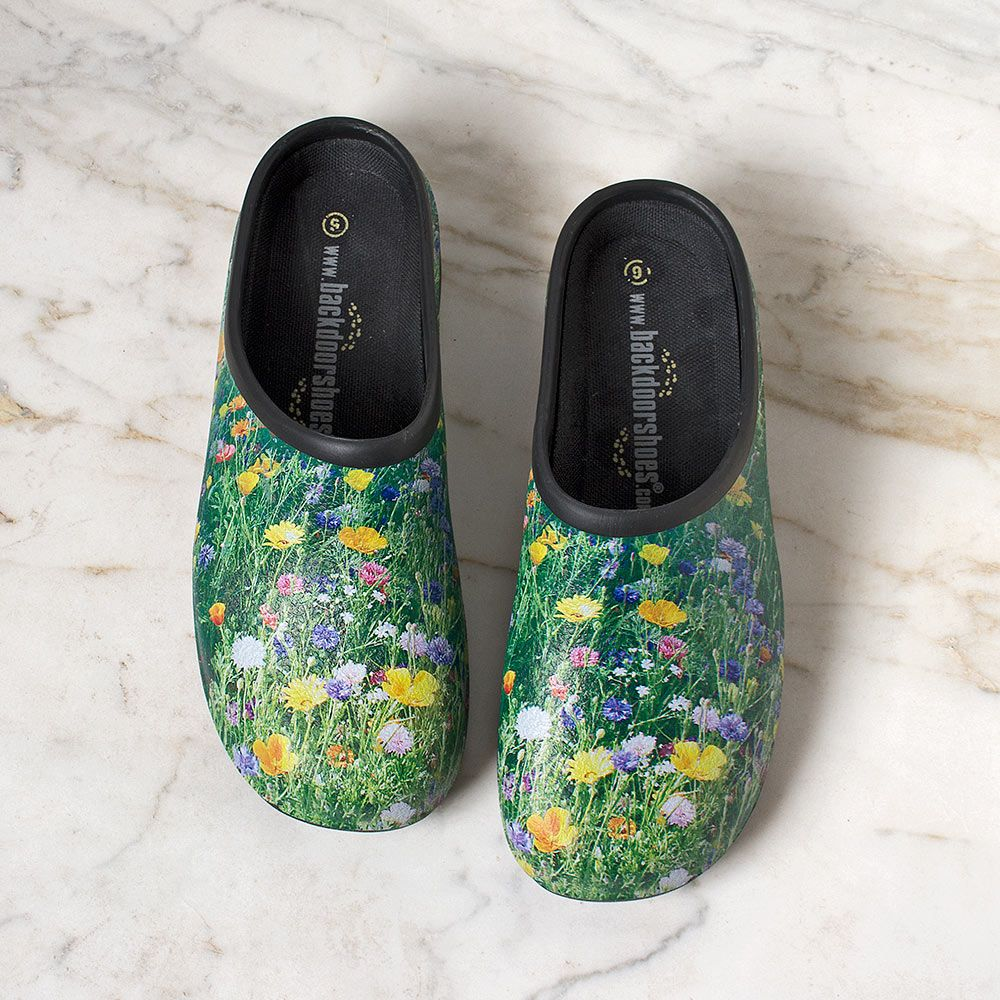 Rough & Ready Meadow Flowers Clogs - Standard Shipping Included