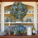 Monterey Hydrangea Wreath or Centerpiece