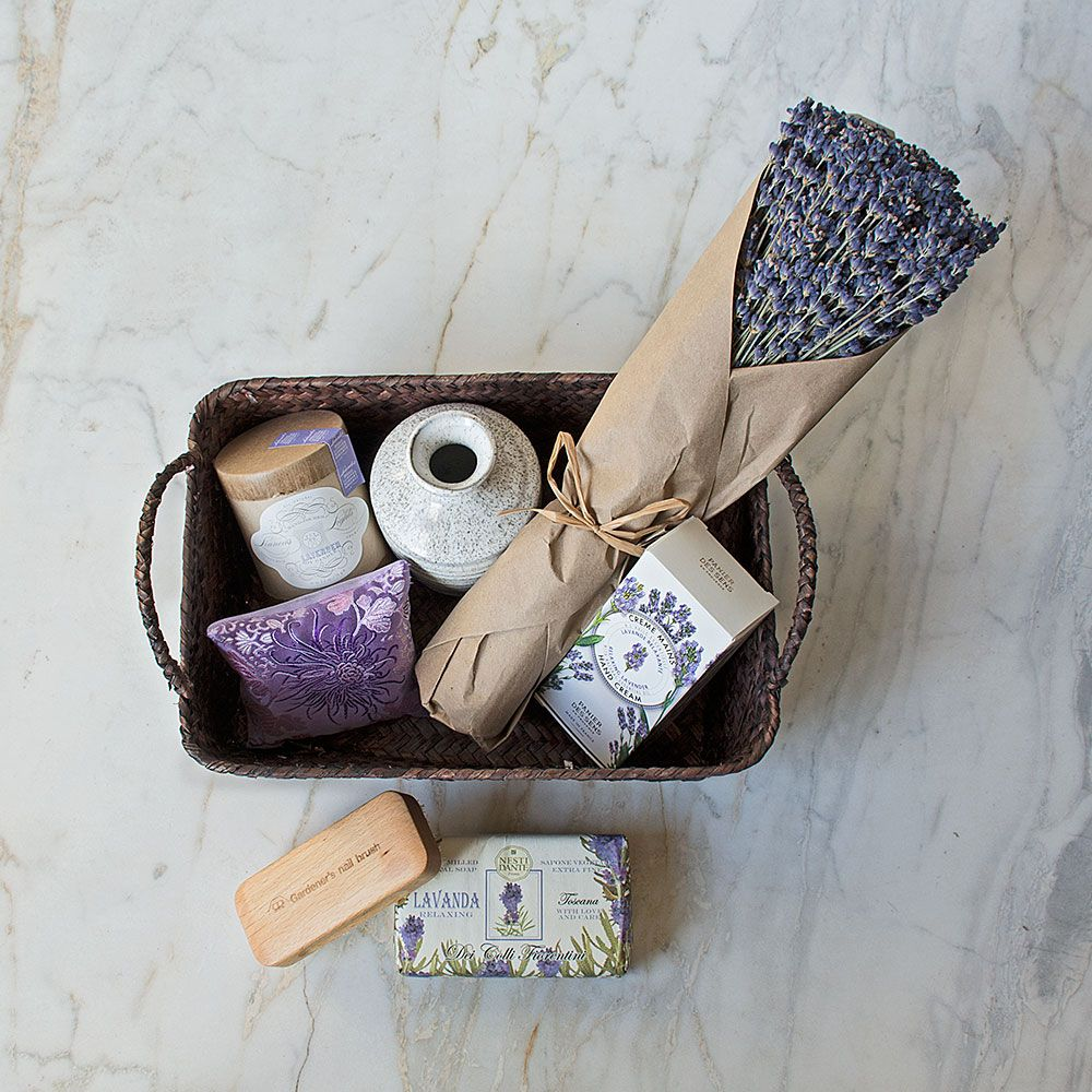 Lavender Lover's Basket of Treasures Sets