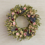 Twilight Floral Wreath