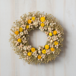 Sunshine & Flowers Wreath