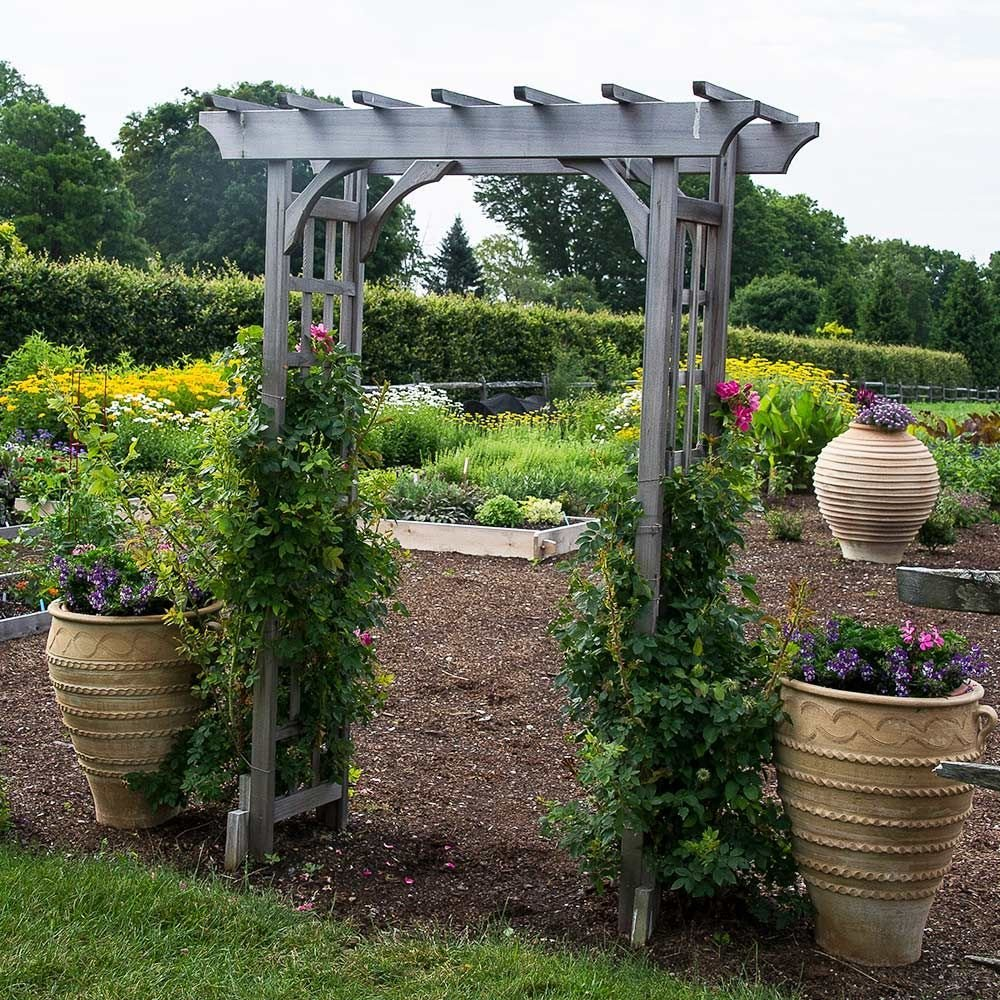 Arbors Trellises For The Garden White Flower Farm