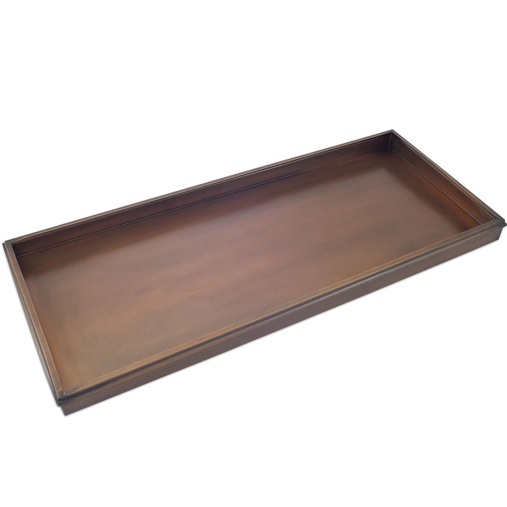 Copper-Toned Boot Tray