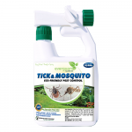 Tick & Mosquito Repellent with hose attachment, 32 oz concentrate