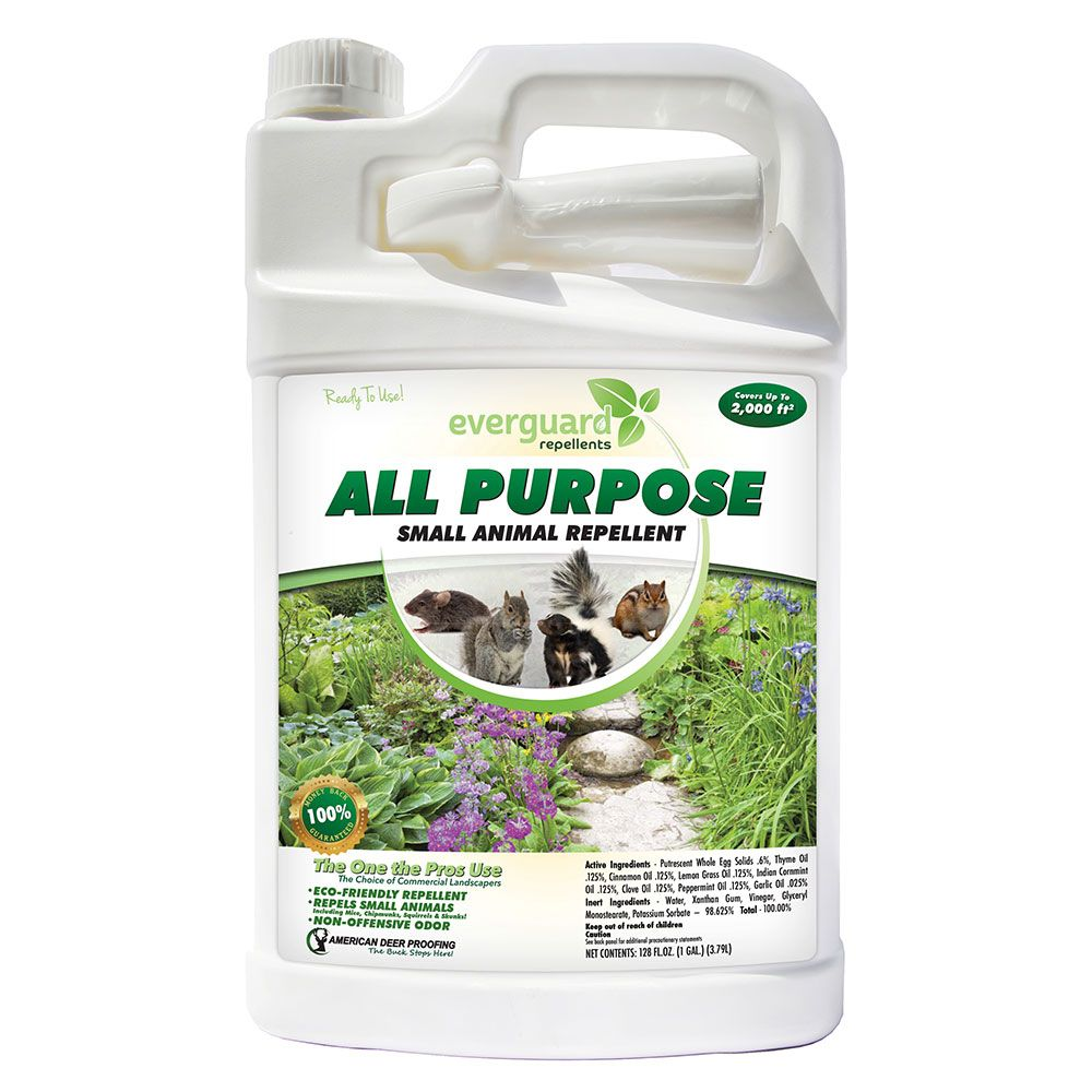 Ready To Use All Purpose Small Animal Repellent 1 Gal White