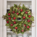 Red Delicious Harvest Wreath