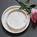 Round Marble Trays