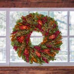 Firelight Wreath