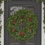 Holly & Greens Wreath