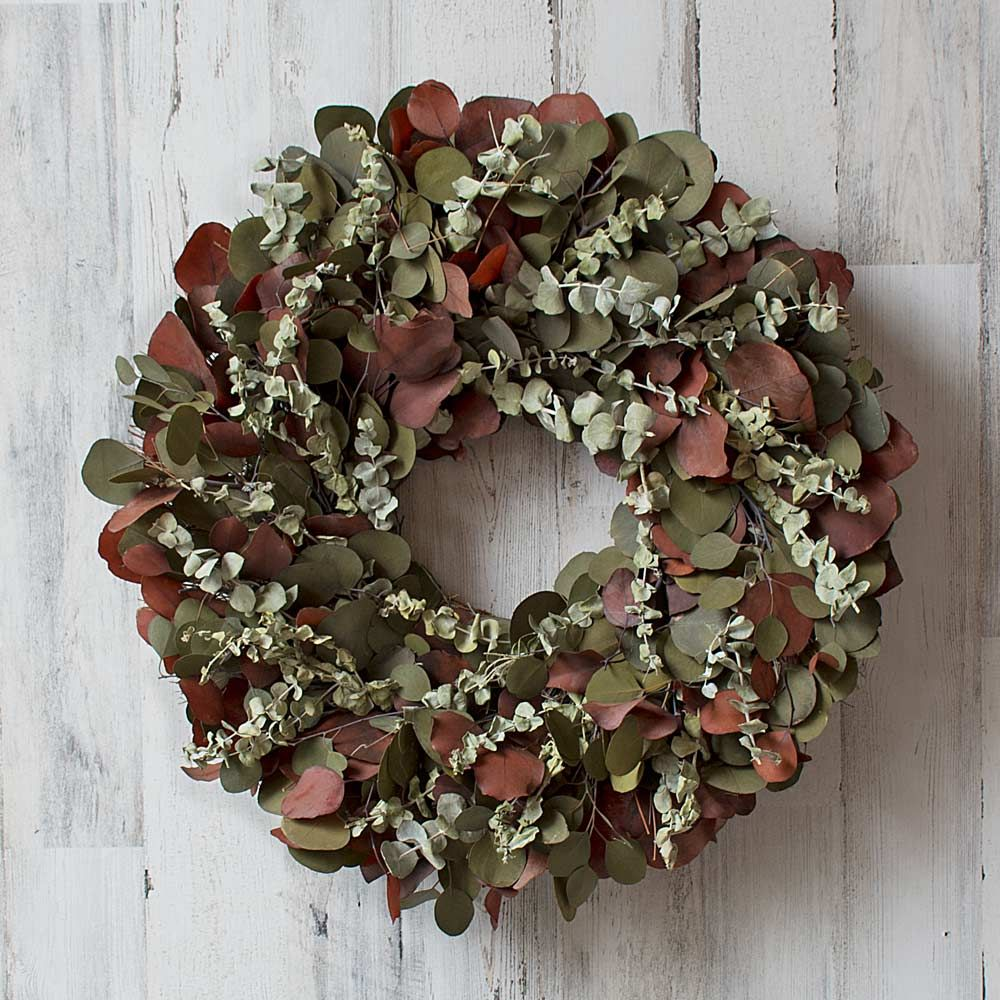 Silver Dollar Wreath