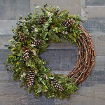 Hope Ranch Holiday Wreath