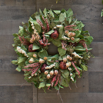 Pomegranate Tapestry Wreath