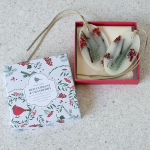 Red Currant & Cranberry Botanical Wax Sachets, set of 2